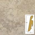 battiscopa harmony/igloo 19 x 58 x 2400 mm mdf