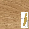battiscopa Millington oak 19 x 58 x 2400 mm mdf