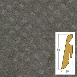 battiscopa Staccato / Loft / Somerst 19 x 58 x 2400 mm mdf