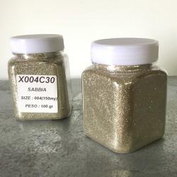 glitter sabbia grana piccola largh. 0,15mm sp. 0,012mm 100gr