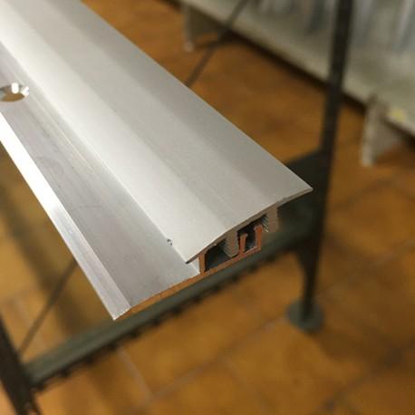 Giunto di separazione 24 x 4/7,5 x 2700 mm alluminio naturale