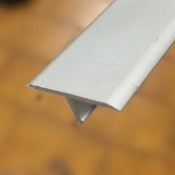 Giunto di separazione 26 x 7 x 2700 mm alluminio anodizzato argento