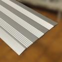 Giunto di dilatazione 80 x 4 x 2700 mm alluminio anodizzato argento senza fori