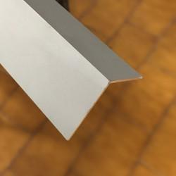 Angolare Alluminio argento mm 40x40x1,5 lungh. 2000 mm