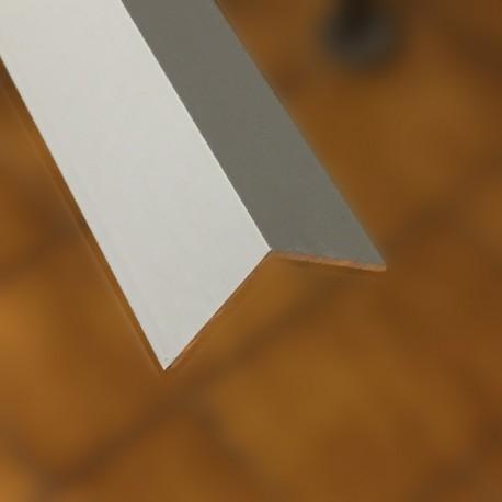 Angolare Alluminio argento mm 20x20x1 lungh. 2000 mm