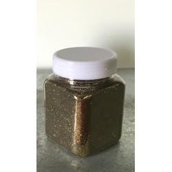 glitter BRONZO idropittura grana medio/piccola largh. 0,23mm 100gr