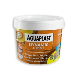 Dynamic Flex Fill Kg 1 Aguaplast stucco elastico ruvido fibrato in pasta