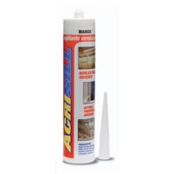 Sigillante acrilico bianco/liscio da ml 310