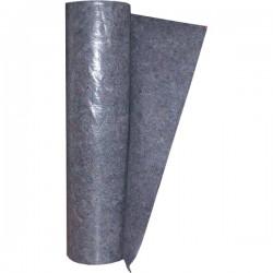 Panno Millefiori in feltro grigio PE cm 100x25 mt accoppiato a caldo Gr. 200/Mq