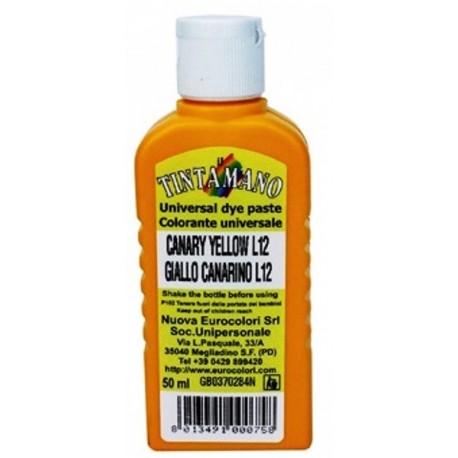 TINTAMANO TERRA 50 Ml Pasta colorante universale, esente da leganti, per tinteggiare idropitture, smalti sintetici e all