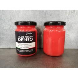 Colore Acrilico Denso ROSSO MEDIO Ml 150