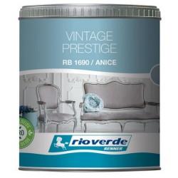 Vintage Prestige Anice Lt 0,5 vernice lavabile all acqua extra opaca per relaizzare effetti shabby