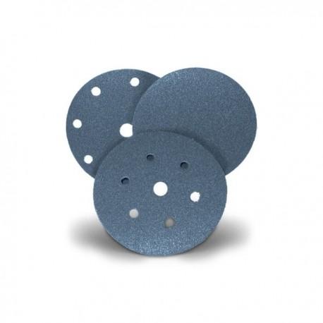 Disco autoaggrappante 115 80 di carta abrasiva antistatica allo zirconio D SAITAC VEL Z F