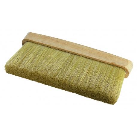 Scopino in setola cinese chiara, extra piena impugnatura in legno di faggio grezzo 170 / 20 x 57 mm