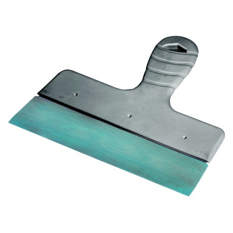 Spatola in acciaio con impugnatura in plastica maneggevole cm 20