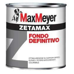 Zetamax grigio fondo definitivo antiruggine anticorrosivo lt 0,500