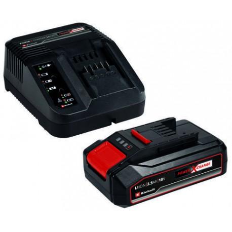 Kit batteria e caricabatteria PXC Starter Kit 18V 2,5 Ah PXC Abbinato ad un prodotto della selezione non vendibile singola