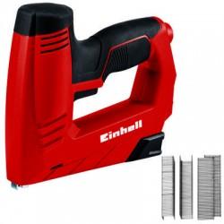 Graffettatrice chiodatrice elettrica TC EN 20 E con kit 1000 graffette e 500 chiodi pcs